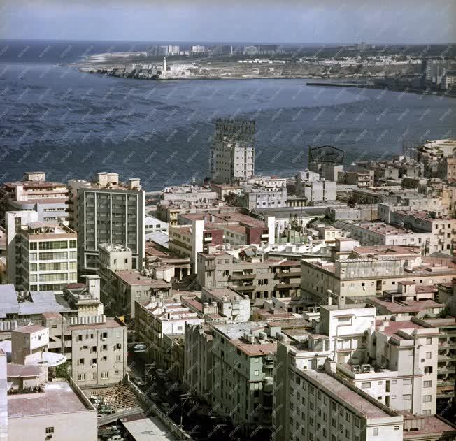 Városkép - Kuba - Havanna öböl