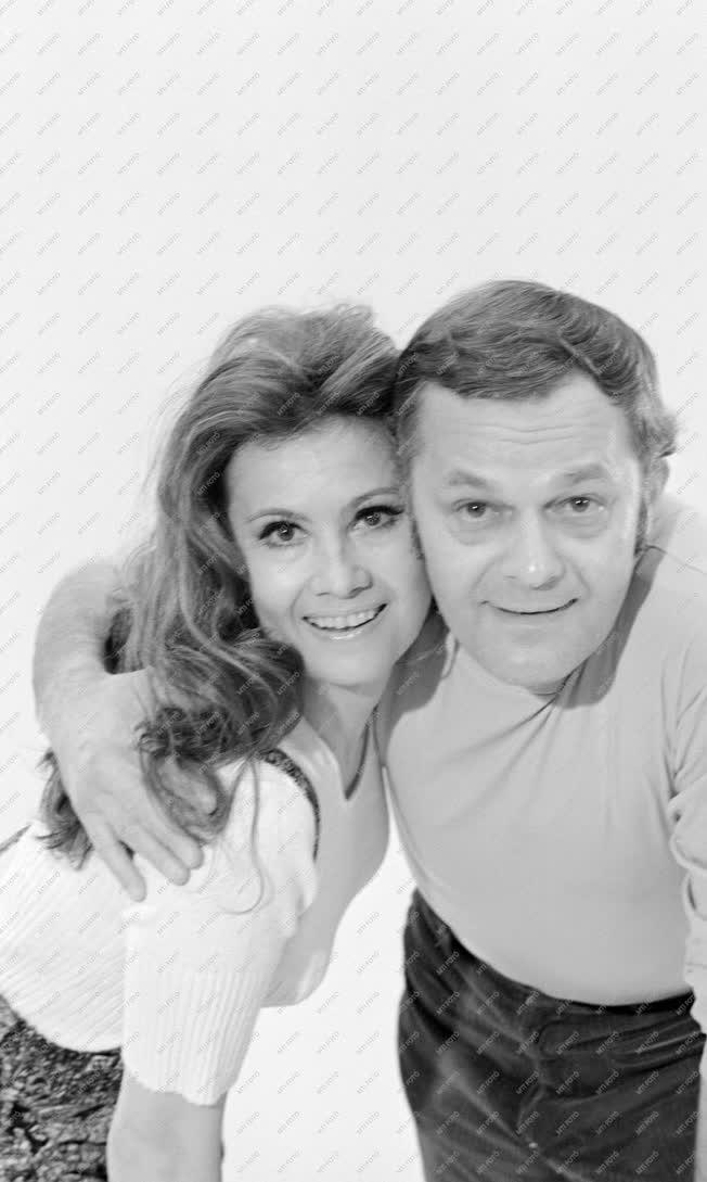Kultúra - Galambos Erzsi és Darvas Iván színművészek