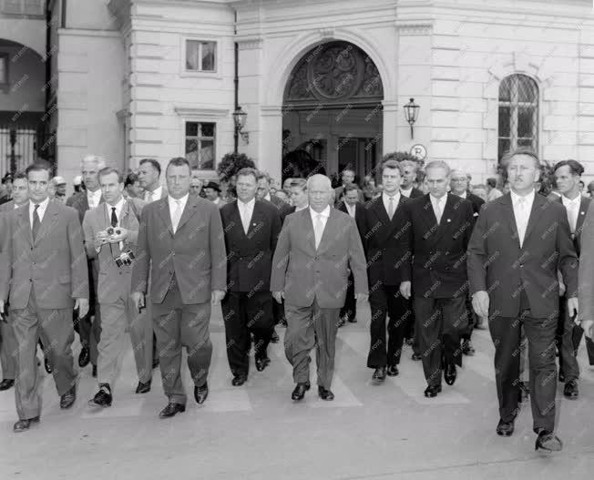 Külpolitika - Nyikita Szergejevics Hruscsov bécsi látogatása