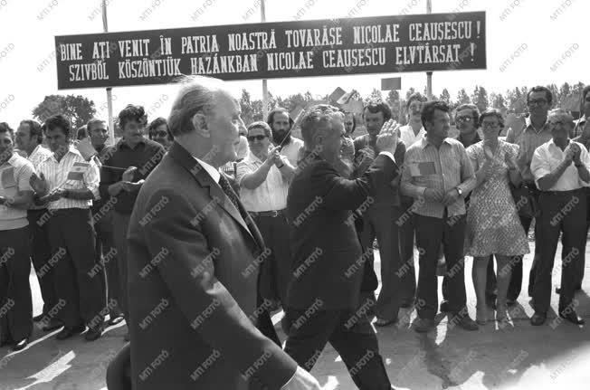 Külpolitika - Nicolae Ceausescu Debrecenben