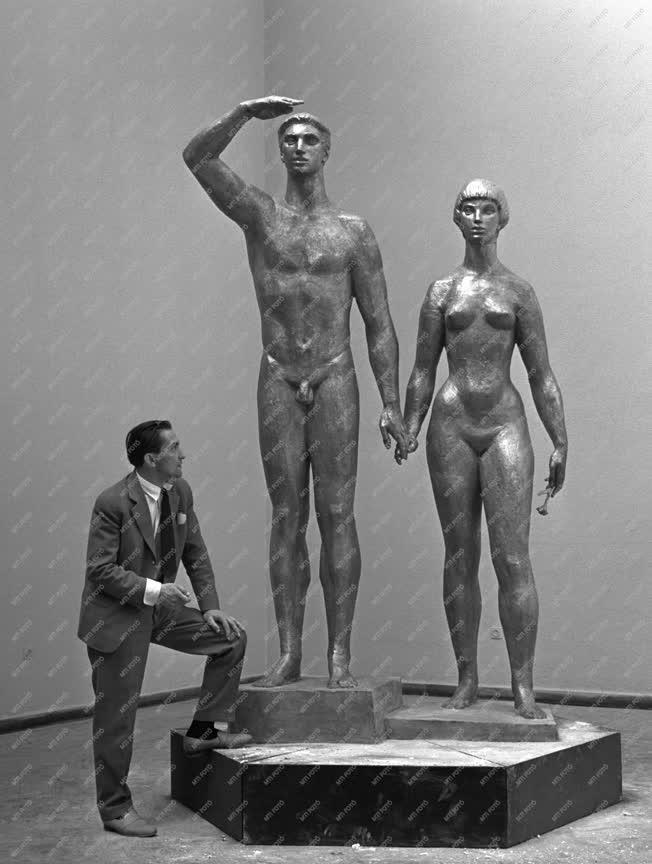 Kiállítás - Kiss István szobrász