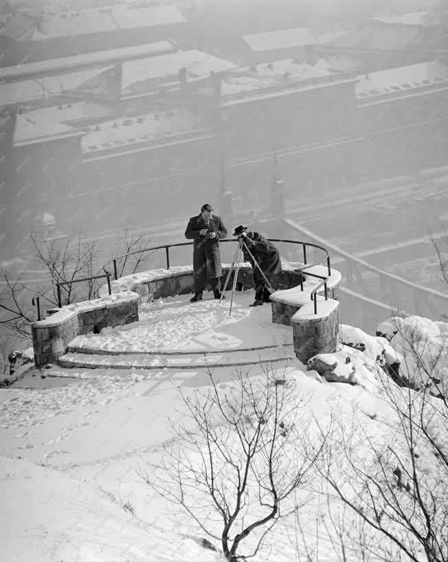 Életkép - Téli képek Budán