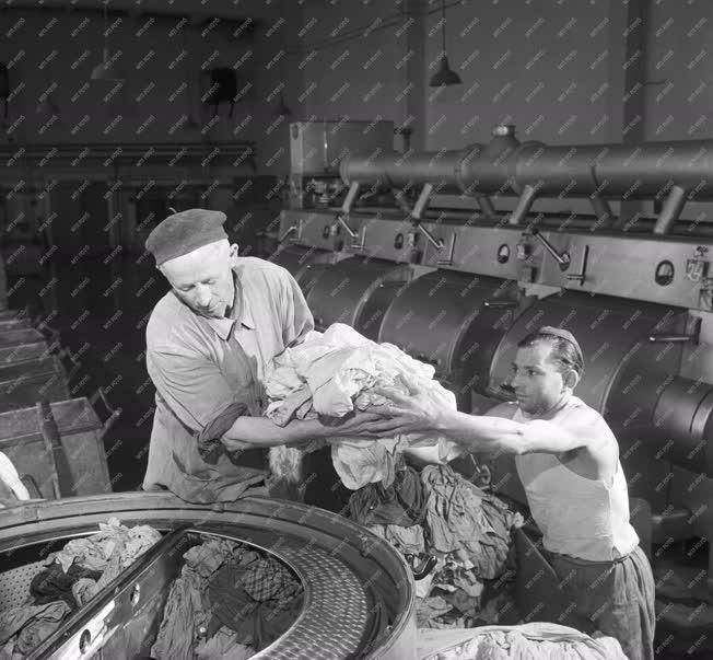 Ipar - A Fővárosi Patyolat Vállalat üzemegységében