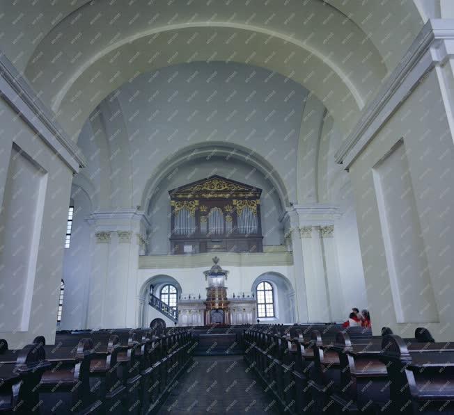 Egyház - A debreceni nagytemplom belső részlete