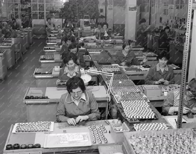 Ipar - A salgótarjáni írószergyár műszergyártó részlege