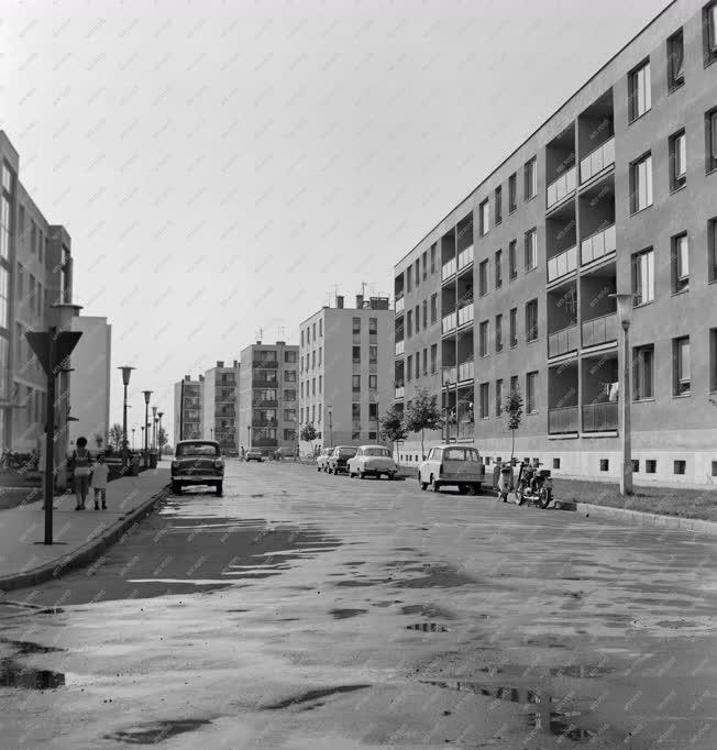 Városkép-életkép - Leninvárosi lakótelep