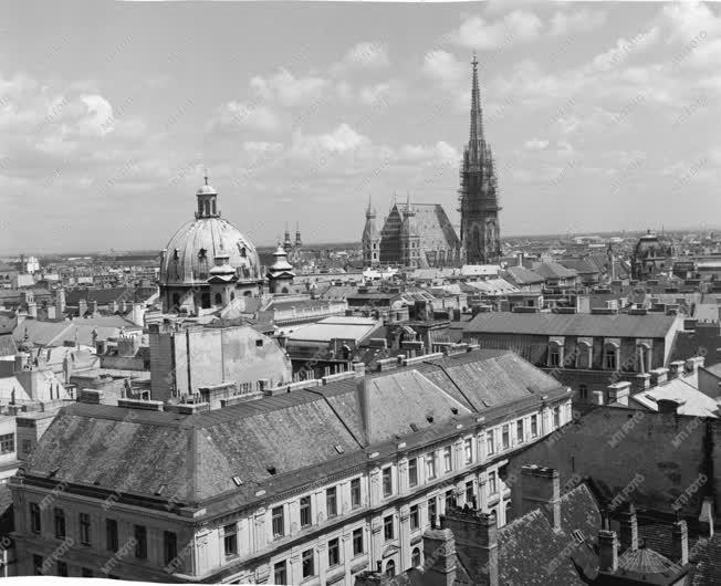 Városok - Bécs látképe