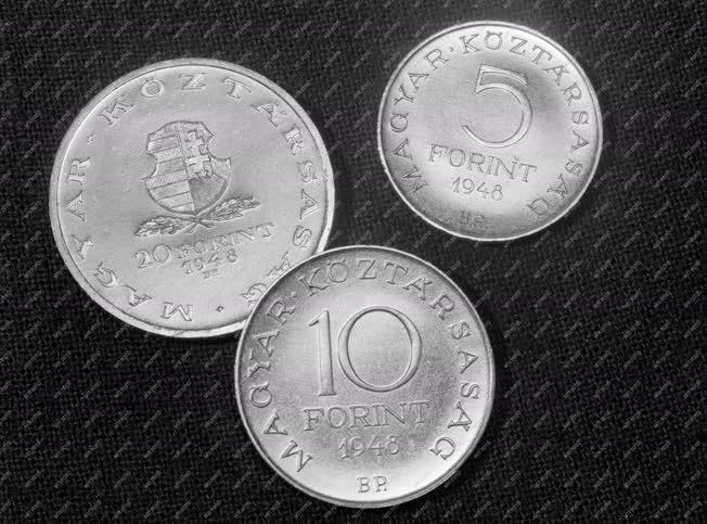 Gazdaság - Fizetőeszköz - Forint 1948-ból