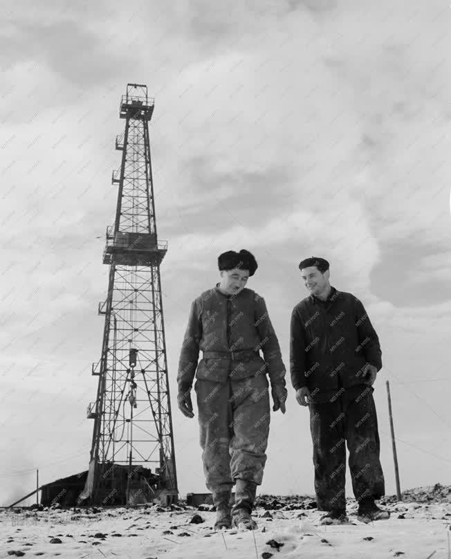 Energia - Alföldi kőolajfúrás
