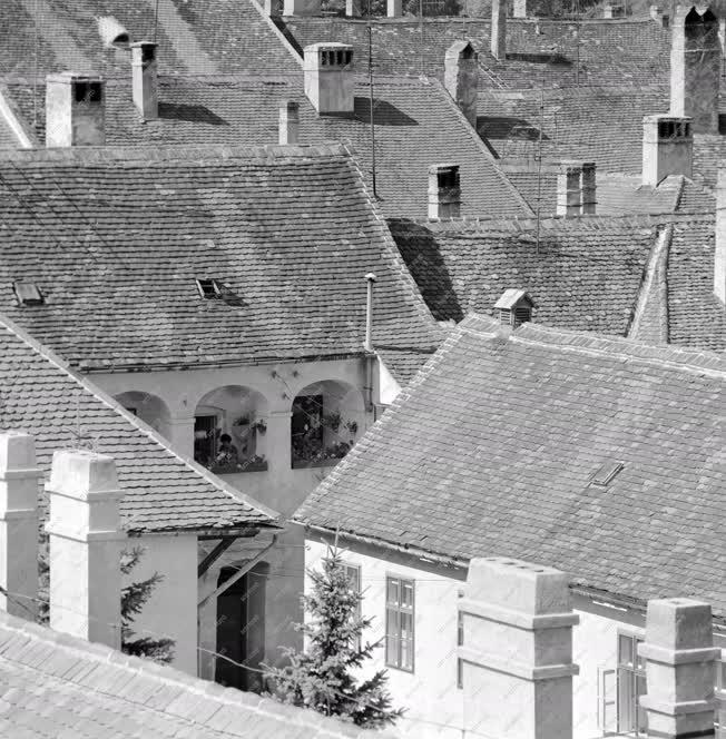 Városkép - Kőszegi háztetők