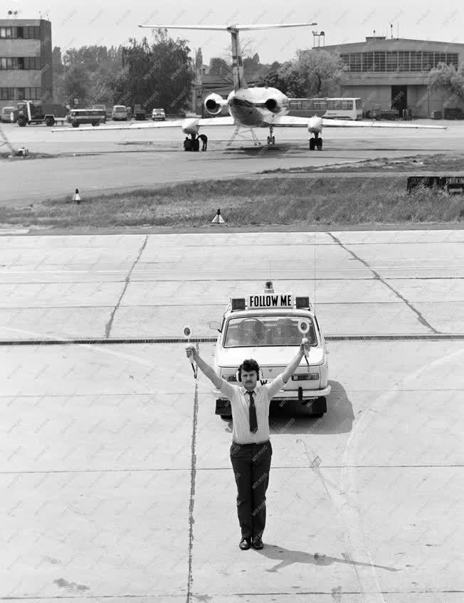 Közlekedés - Ferihegyi repülőtér