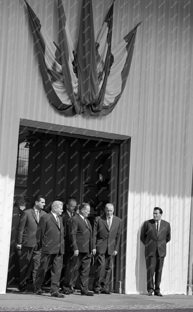 Külkapcsolat - Josip Broz Tito látogatása Magyarországon