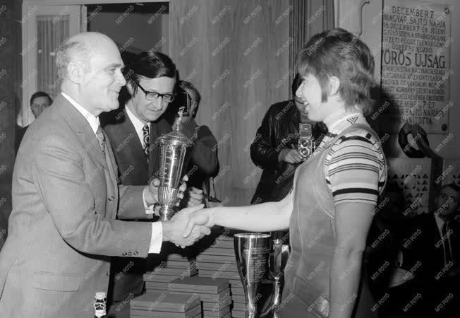 Kitüntetés - Átadták az Év Sportolója díjakat