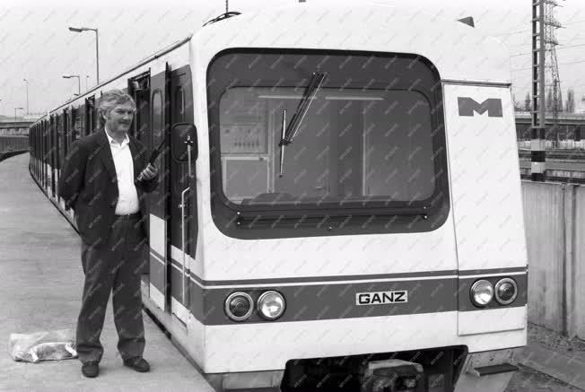 Próbaúton a magyar metró