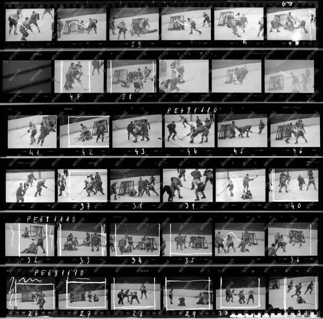 Sport - Vörös Meteor-Építők jégkorong mérkőzés