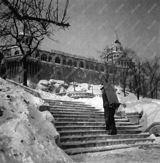 Életképek - Havas Budapest