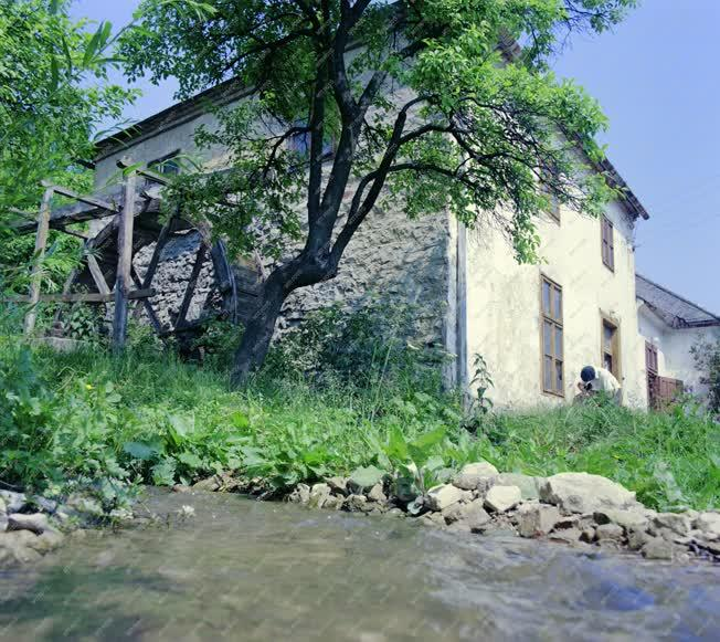 Városkép - Ipartörténet - Műemlék vízimalom Csopakon