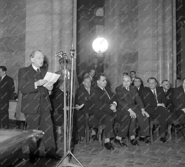 Kossuth-díjasok - Díjátadás 1955-ben
