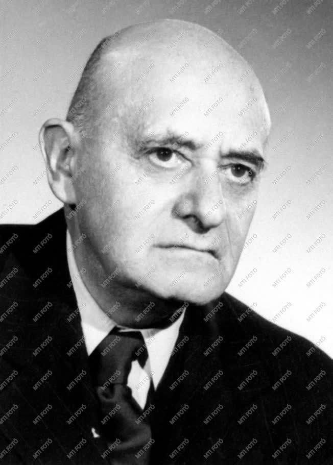 1961-es Kossuth-díjasok - Dr. Marót Károly