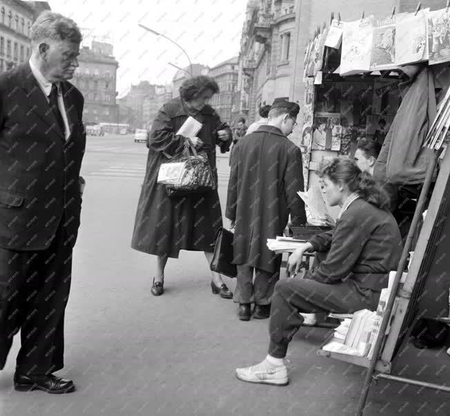 Életkép - Budapest életkép