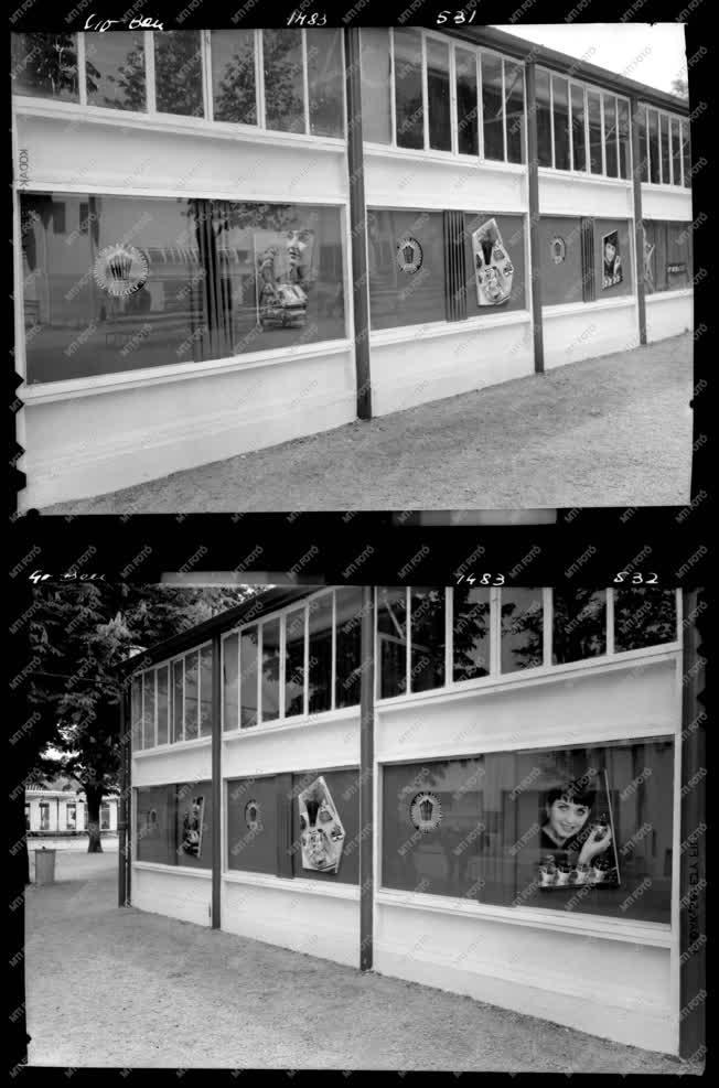 Kiállítás - Budapesti Ipari Vásár pavilonja