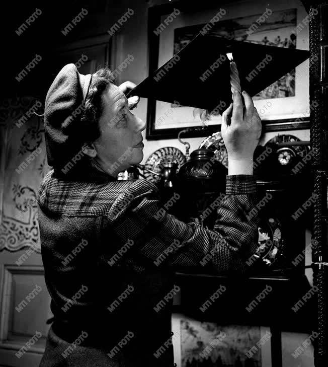 Aszódi Weil Erzsébet Munkácsy-díjas festő