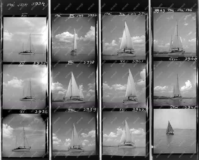 Ipar -Sport - Vitorláshajók a Balatonon