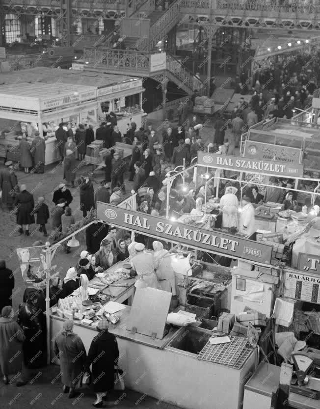 Kereskedelem - A Dimitrov téri vásárcsarnok