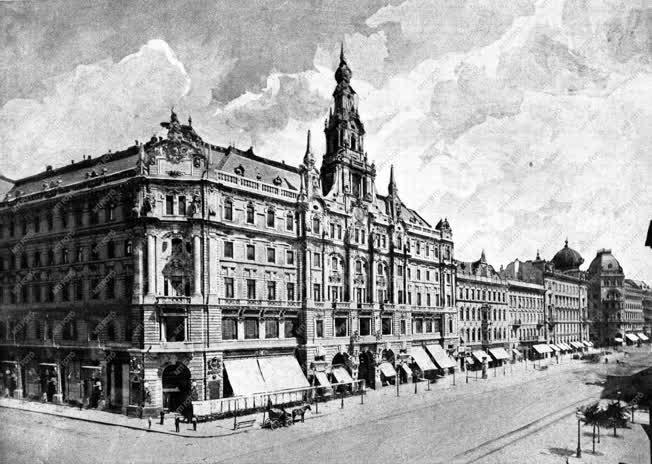 Budapesti városkép - A New York palota