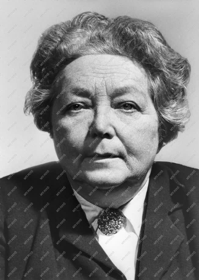 1962-es Kossuth-díjasok - Dr. György Júlia