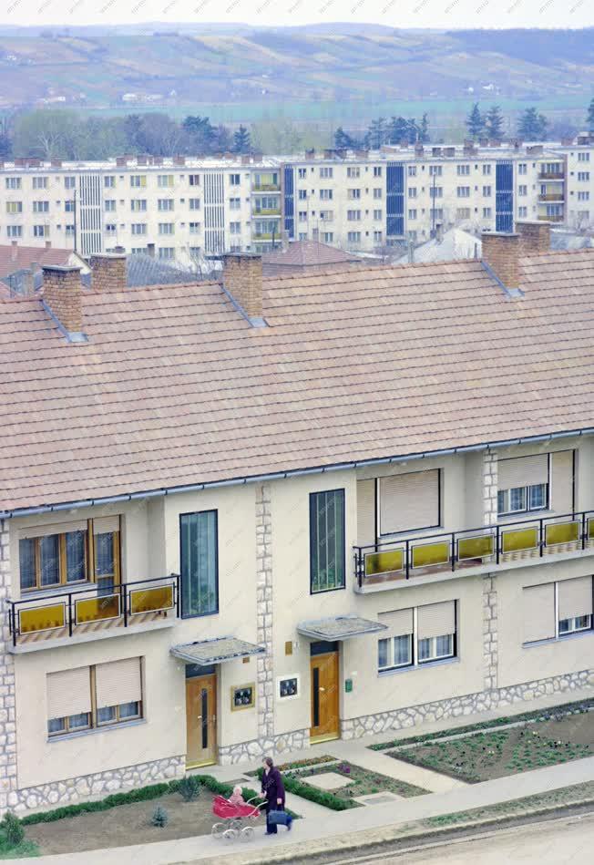 Városkép - A Fáy lakótelep Bonyhádon