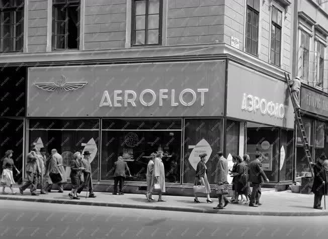 Budapest - Légi közlekedés - AEROFLOT-iroda nyílik Budapesten
