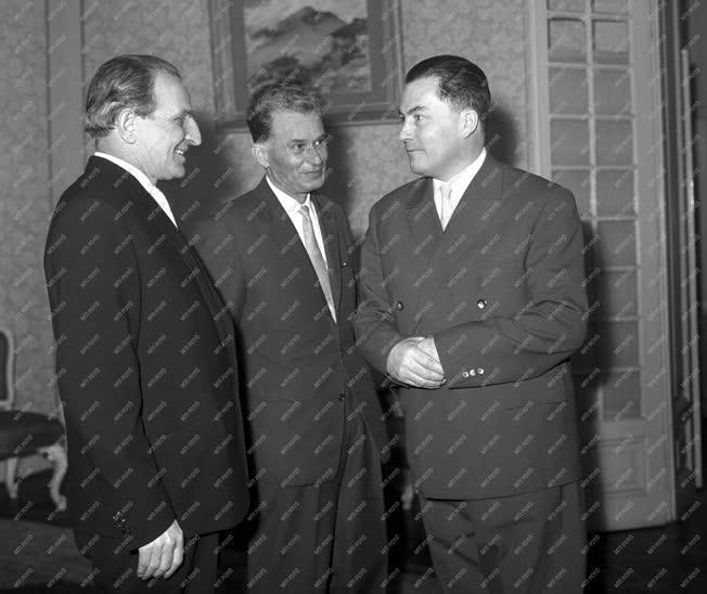 Külkapcsolat - Fogadás a bolgár nagykövetségen