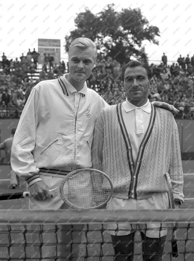 Sport - Tenisz - Magyyar-svéd Davis-kupa teniszviadal