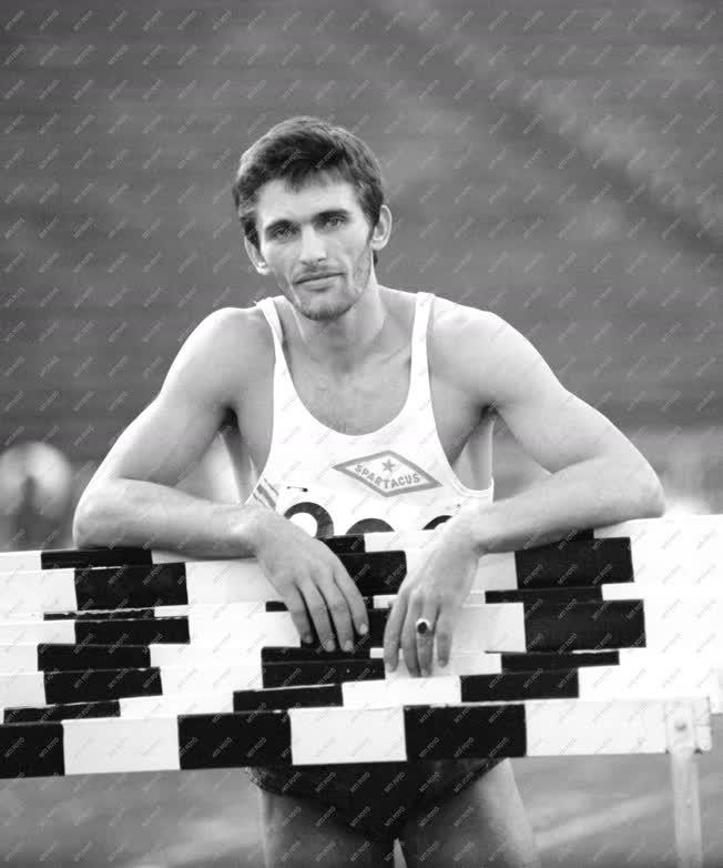 Sport - Országos Atlétikai Bajnokság - Mélykúti Béla