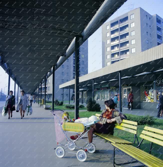 Városkép-életkép - Komlói életkép