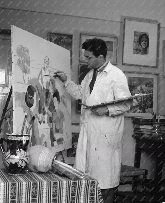 Képzőművészet - Festő - Festmény