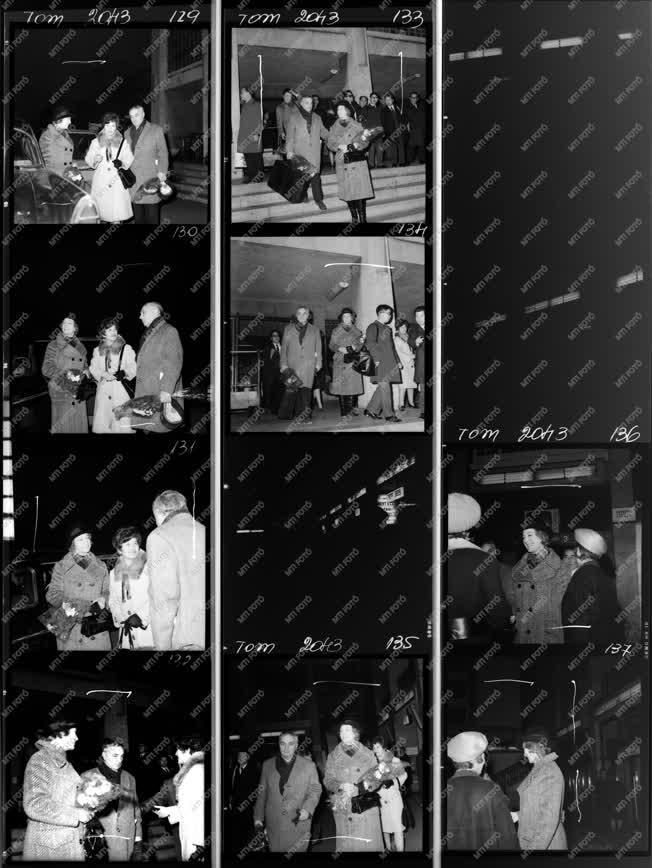 Külkapcsolat - Mokép album - Szovjet filmküldöttség