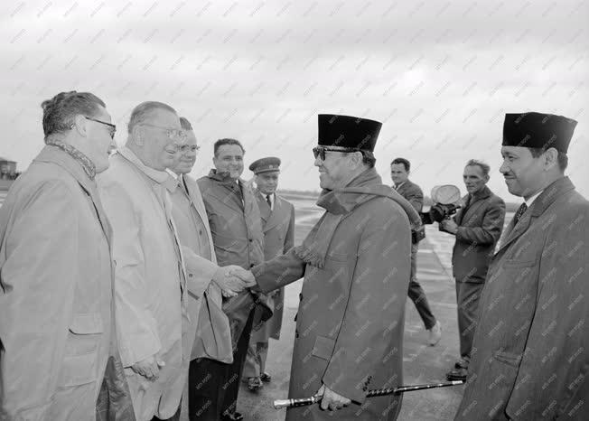 Külpolitika - Sukarno elnök Budapesten