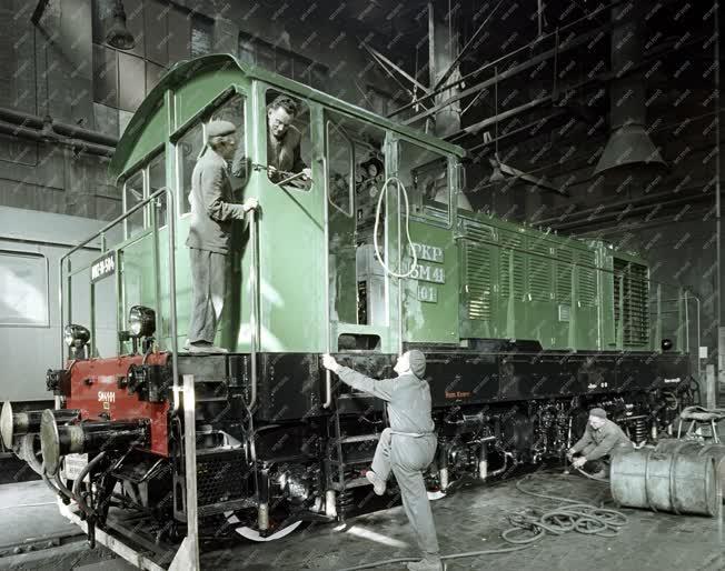 Ipar - Ganz-MÁVAG Mozdony-, Vagon- és Gépgyár