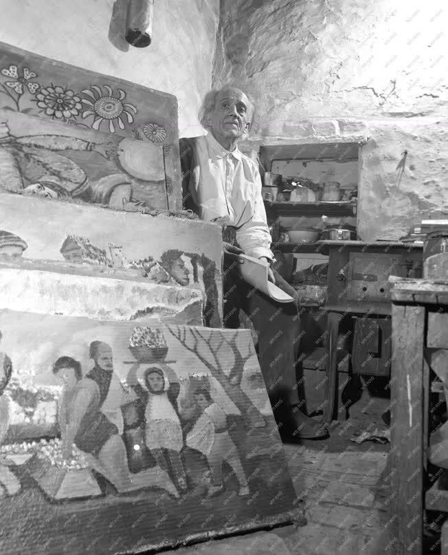 Képzőművészet - Balázs János naiv festő