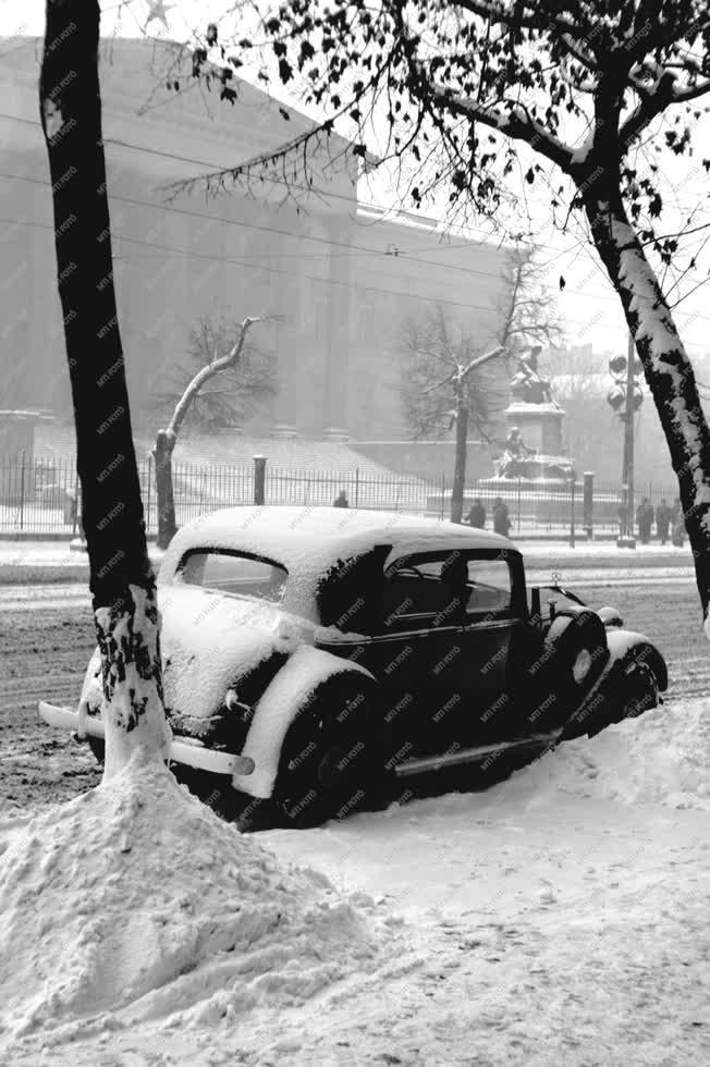 Időjárás - Téli Budapest