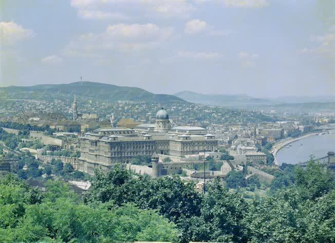 Városkép - Látkép a budai várról