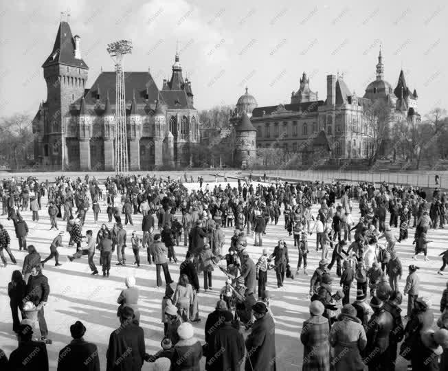 Budapesti képek - Műjég