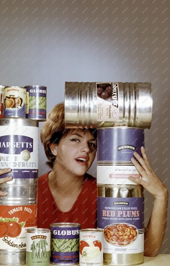 Ipar - Élelmiszeripar - Globus konzerv