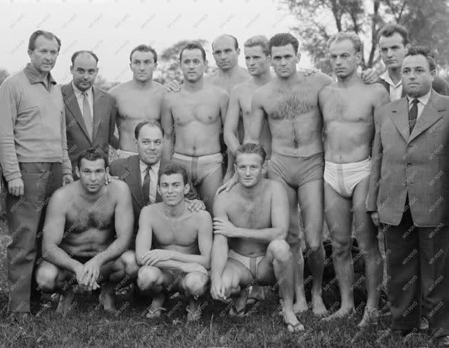 Sport -  1961-es vízilabda-bajnokság - Szolnoki Dózsa