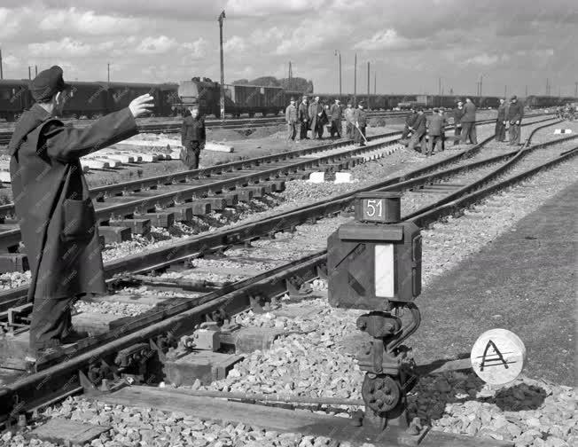 Vasúti közlekedés - Miskolc-Tiszai pályaudvar