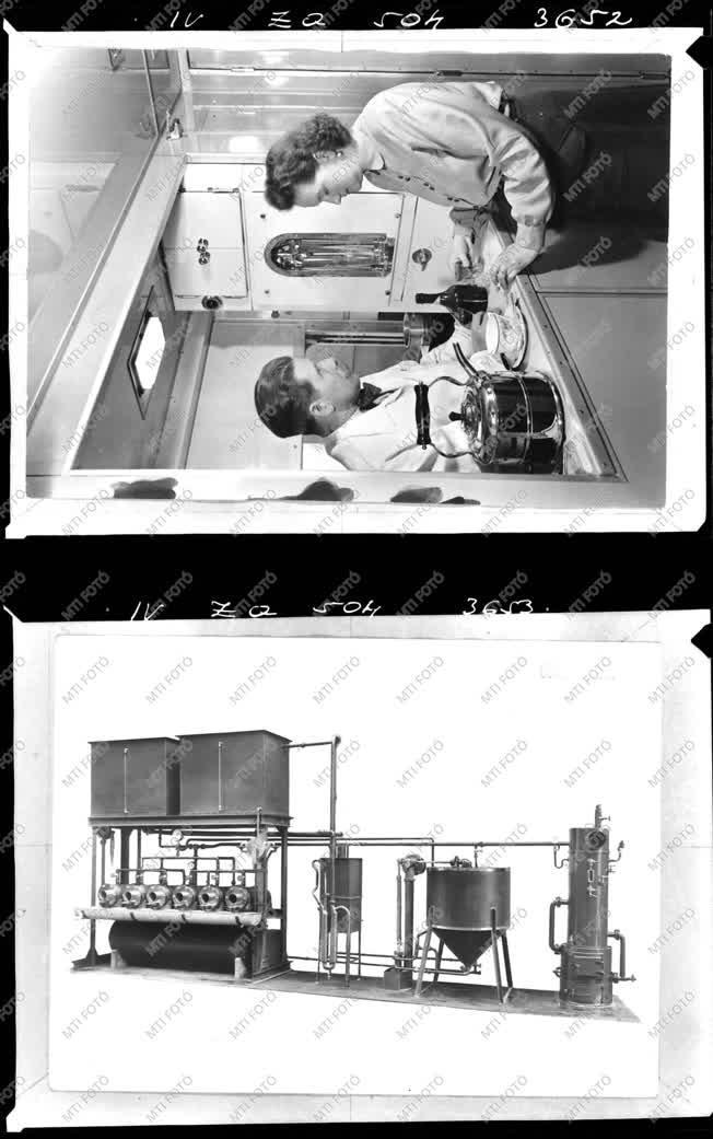 Ipar - Vonat belső, vegyipari berendezés