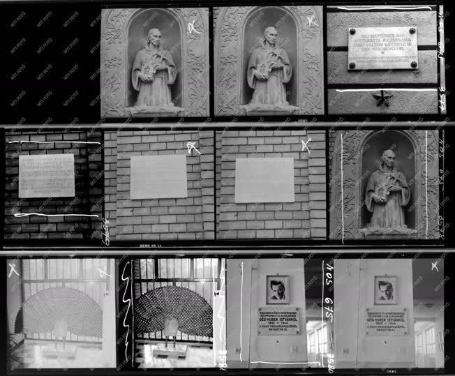 Városkép - Kultúra - Emléktáblák, szobor