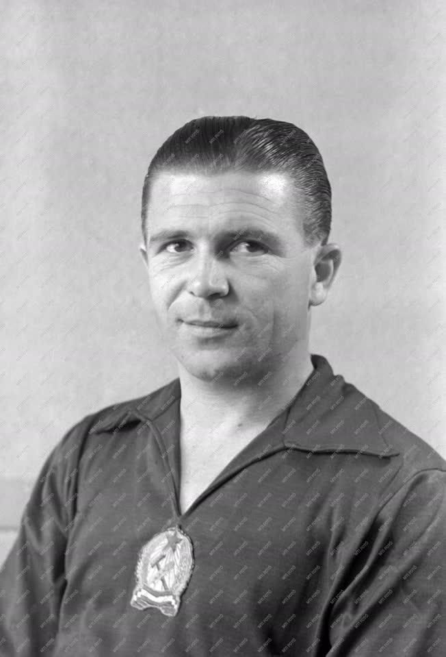 Sport - Labdarúgás - Aranycsapat - Puskás Ferenc